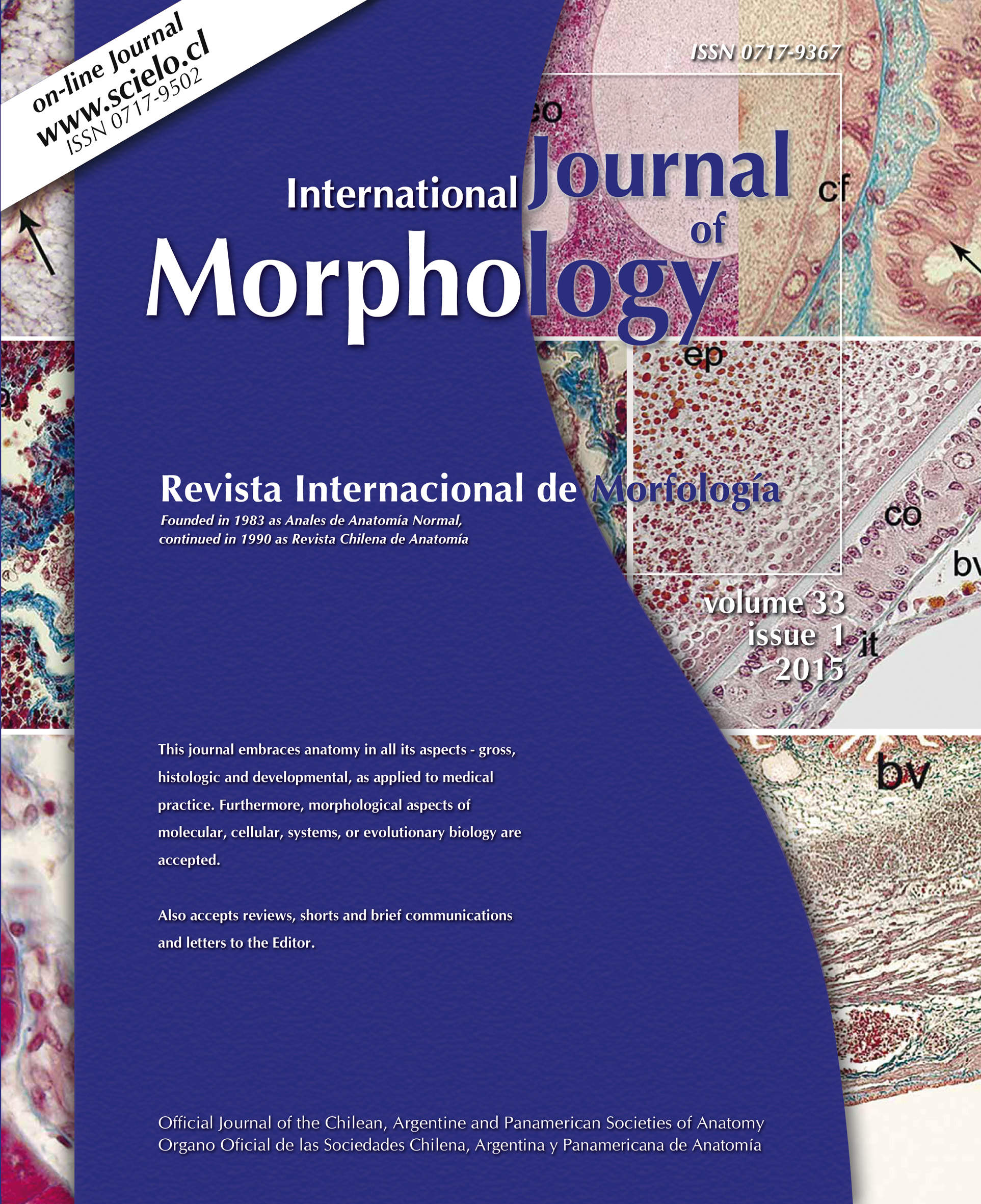 Fascículo 1 Archive - International Journal of Morphology