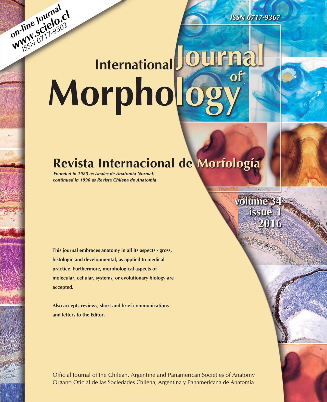 Ultimos Números Publicados - International Journal of Morphology